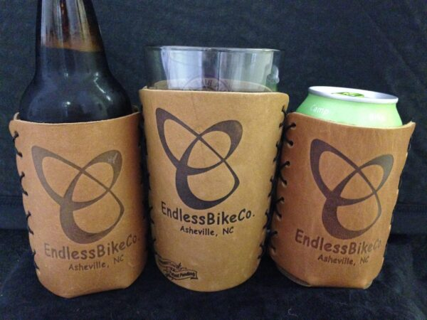 Endless Bike Co beer cozies