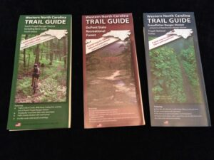 Mountain bike trail maps