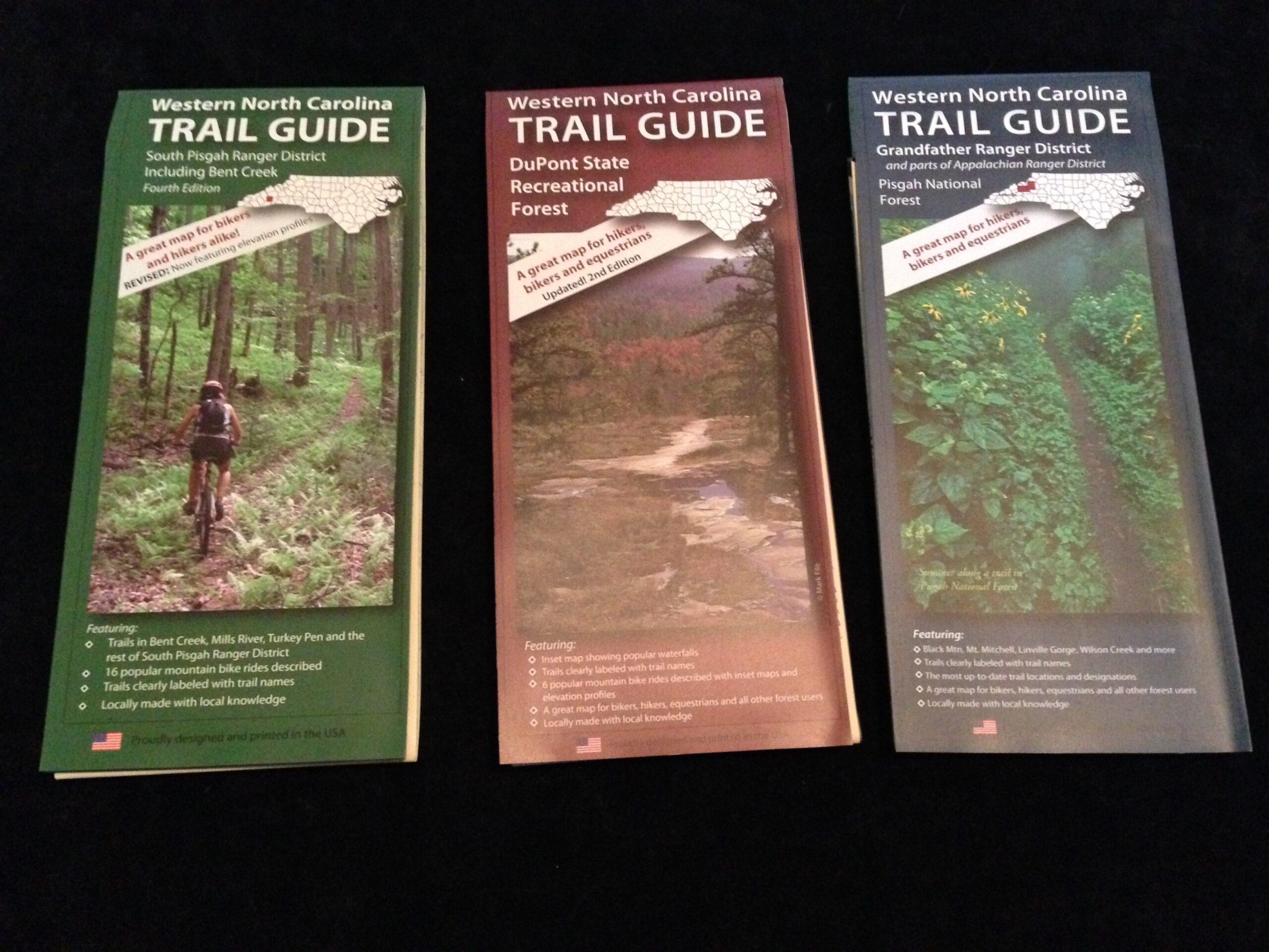 Mountain bike trail maps