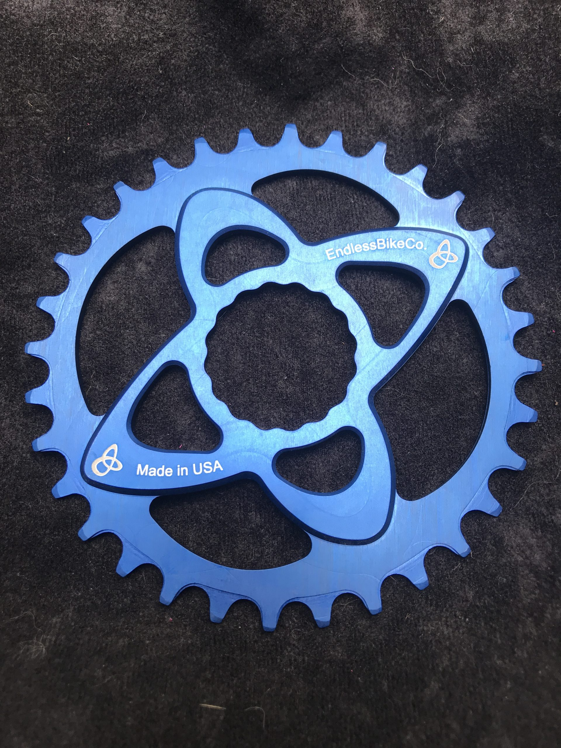 Raceface cinch chainring blue