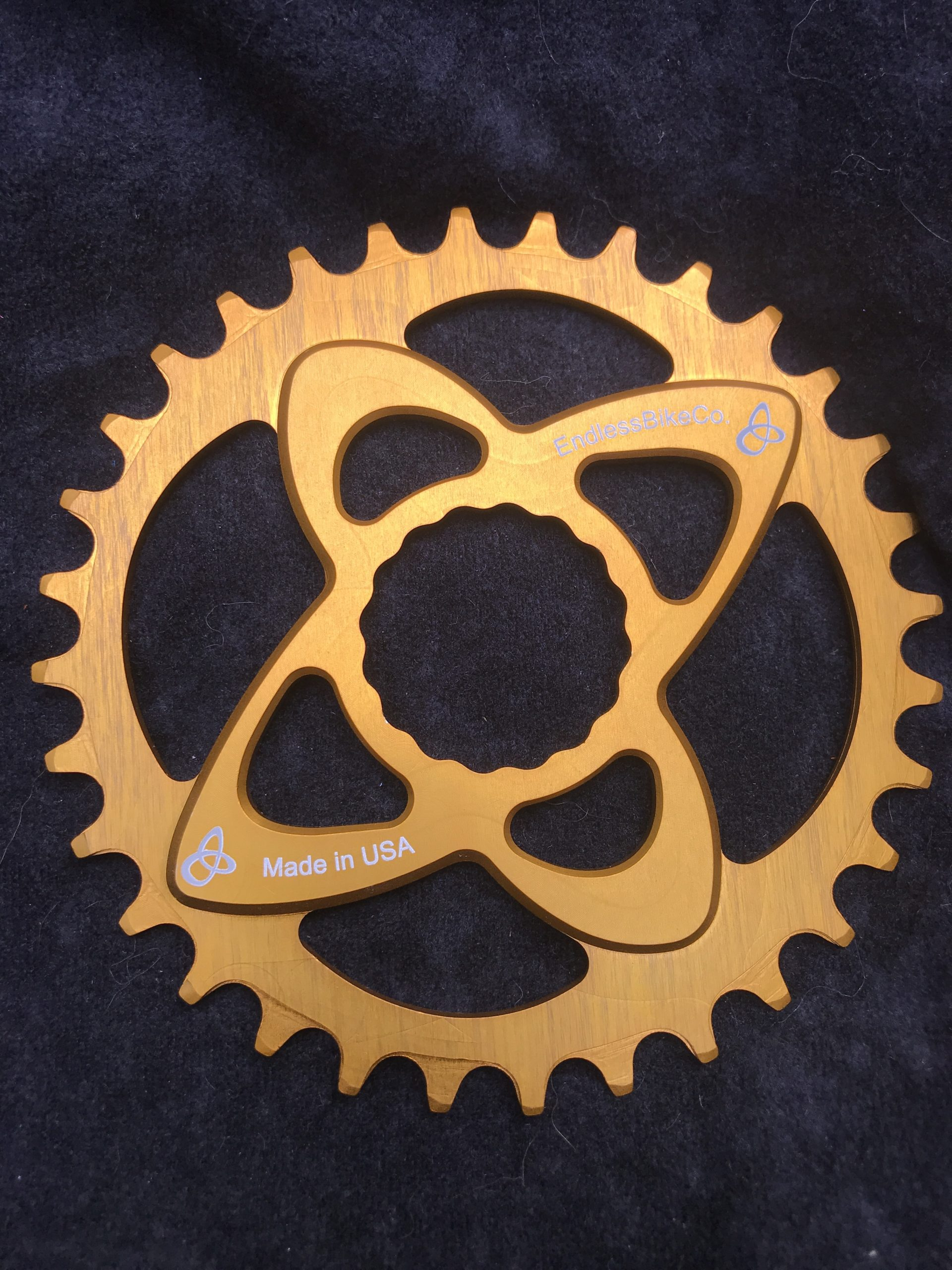 Raceface cinch chainring gold