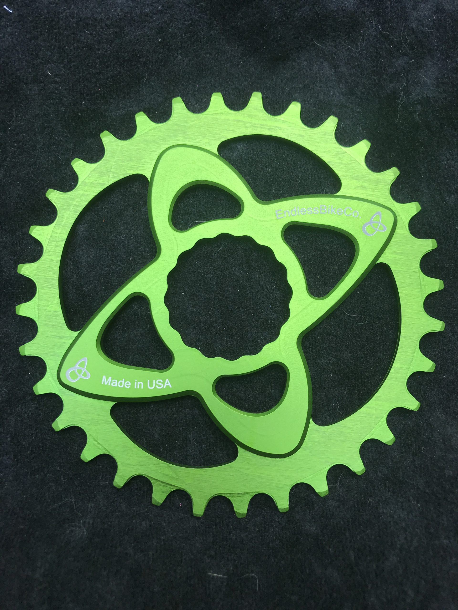Raceface cinch chainring green