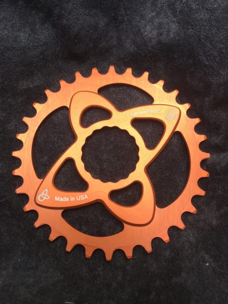 Raceface cinch chainring orange