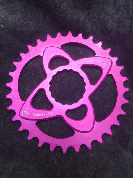 Raceface cinch chainring pink