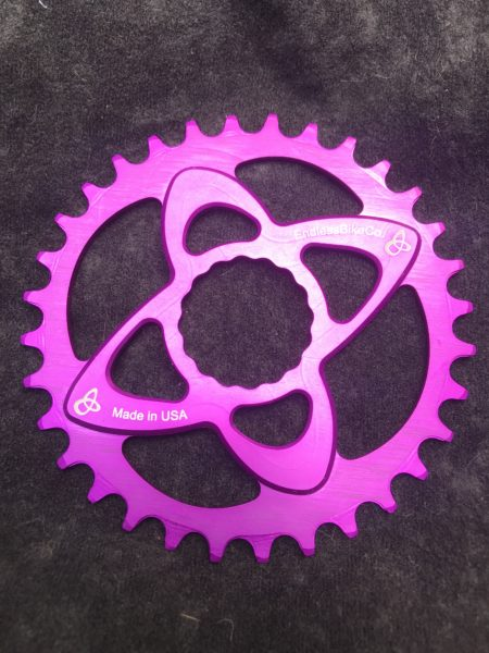Raceface cinch chainring purple