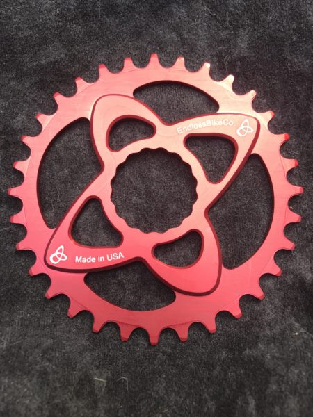 Raceface cinch chainring red