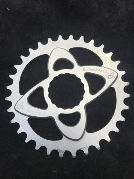 Raceface cinch chainring silver