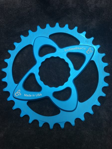 Raceface cinch chainring teal