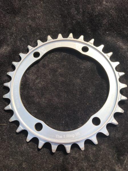 Shimano XT chainring 30t silver