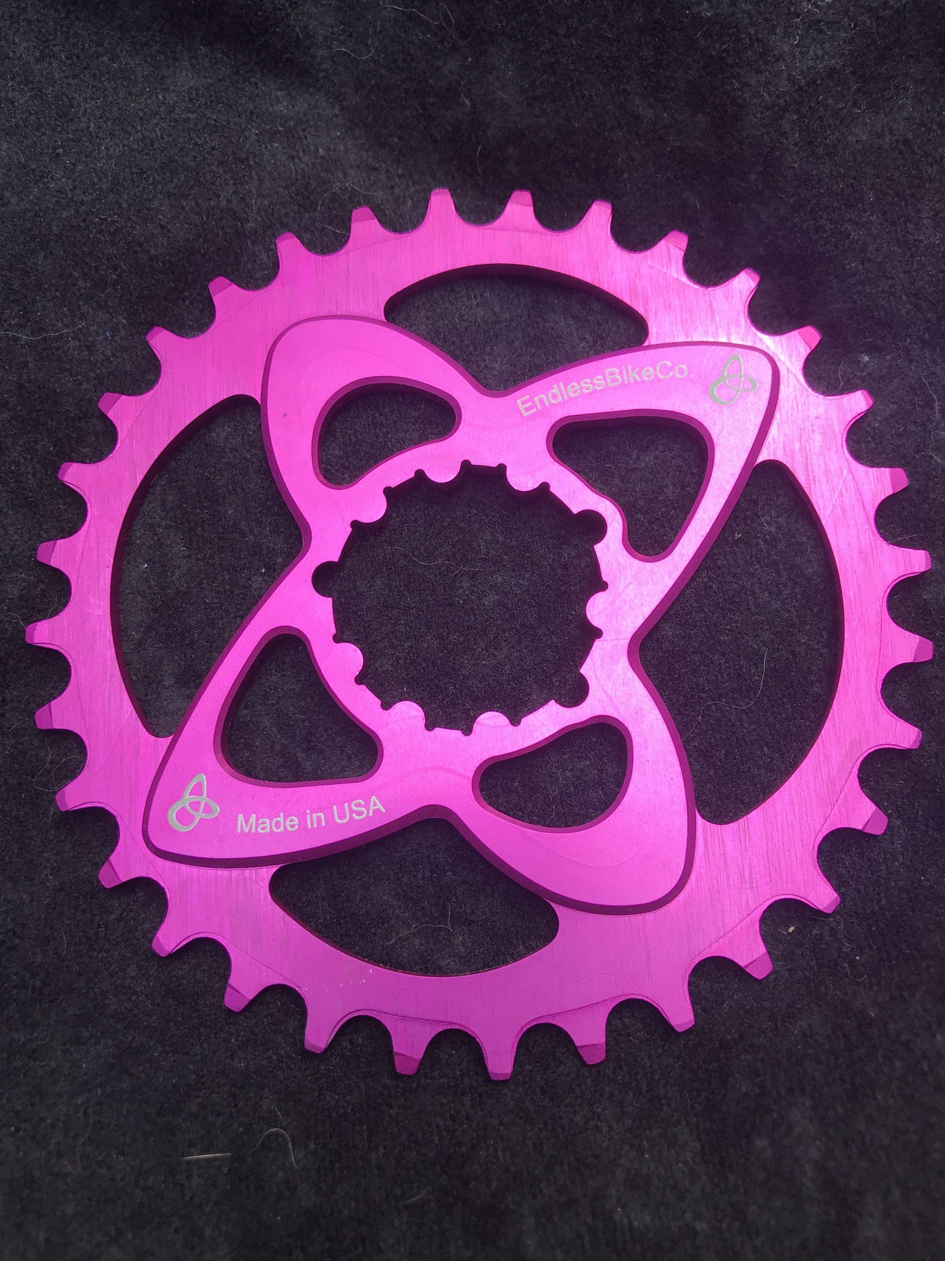 SRAM direct mount chainring pink