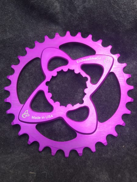 SRAM direct mount chainring purple