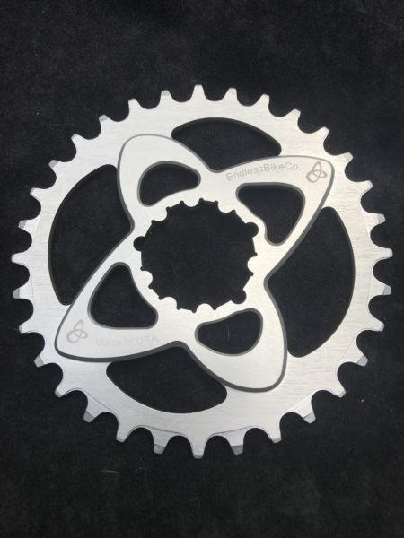 SRAM direct mount chainring silver