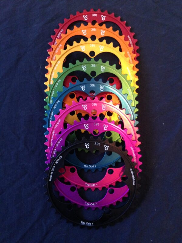 Narrow wide chainrings