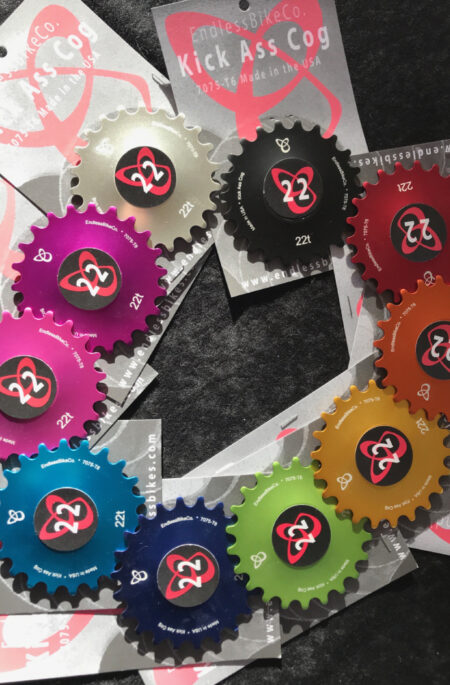 Single speed cogs
